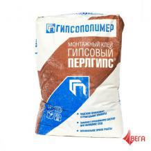 ПЕРЛГИПС® Клей монтажный гипсовый 25кг.