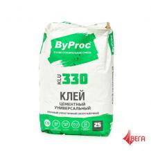 Бипрок Клей для строительных конструкций ByProc KLU-330 25кг