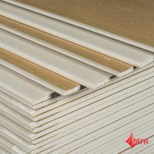 Гипсокартон ГКЛ Гипсополимер  1200х2500х12.5 мм лист