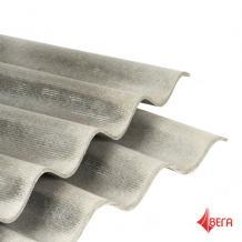 Шифер 8-волновой лист толщ. 5,8мм